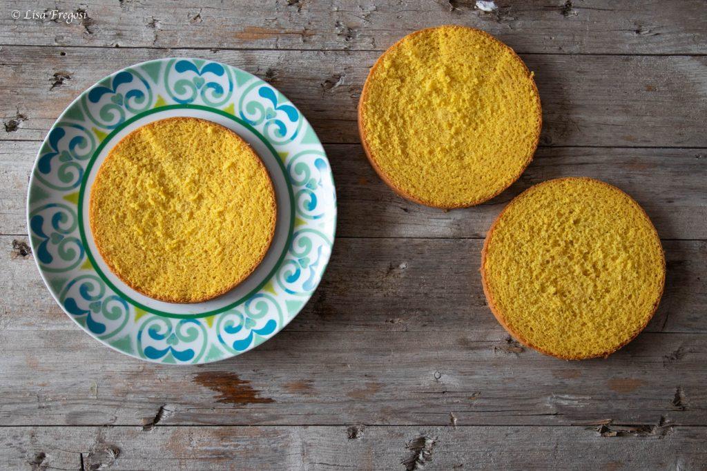 torta mimosa passo a passo