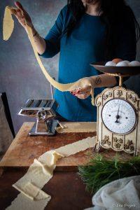 come fare la pasta ripiena all'uovo con farina integrale