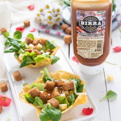caesar salad ricetta con salsa alla birra Serbosco