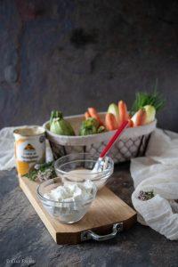 Rotolini di verdure con Crema al parmigiano reggiano dop Serbosco