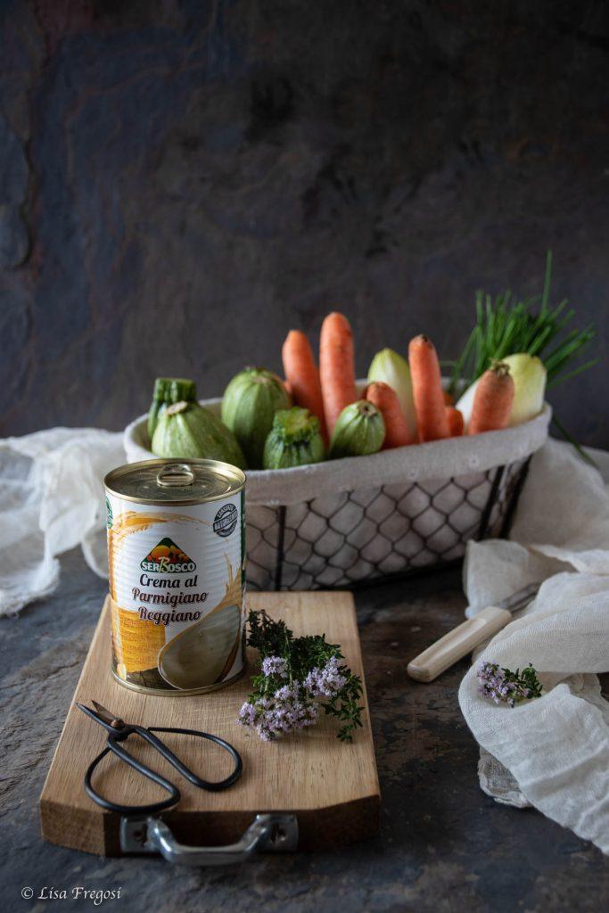 Crema al parmigiano reggiano dop Serbosco