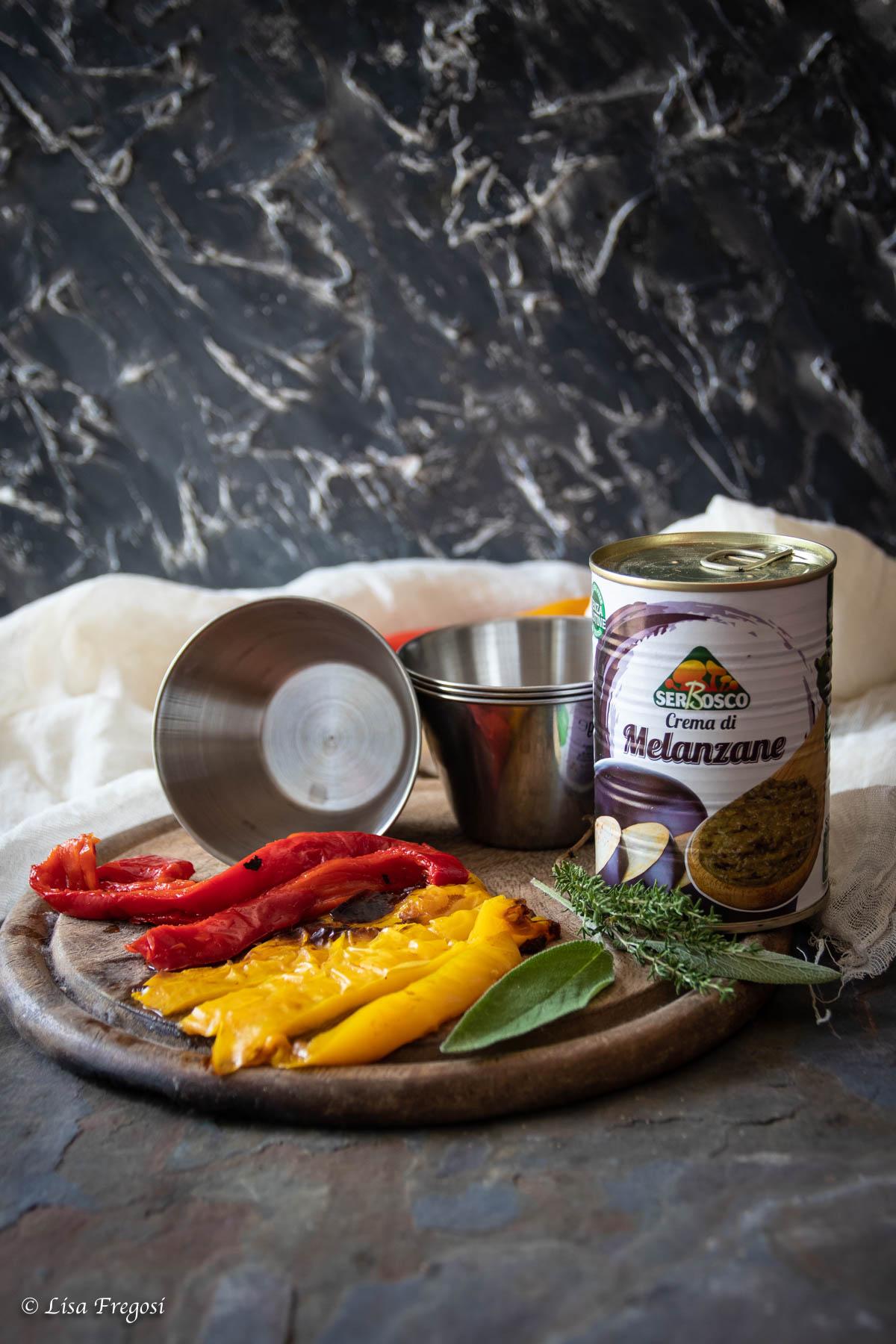 crema di melanzane Serbosco