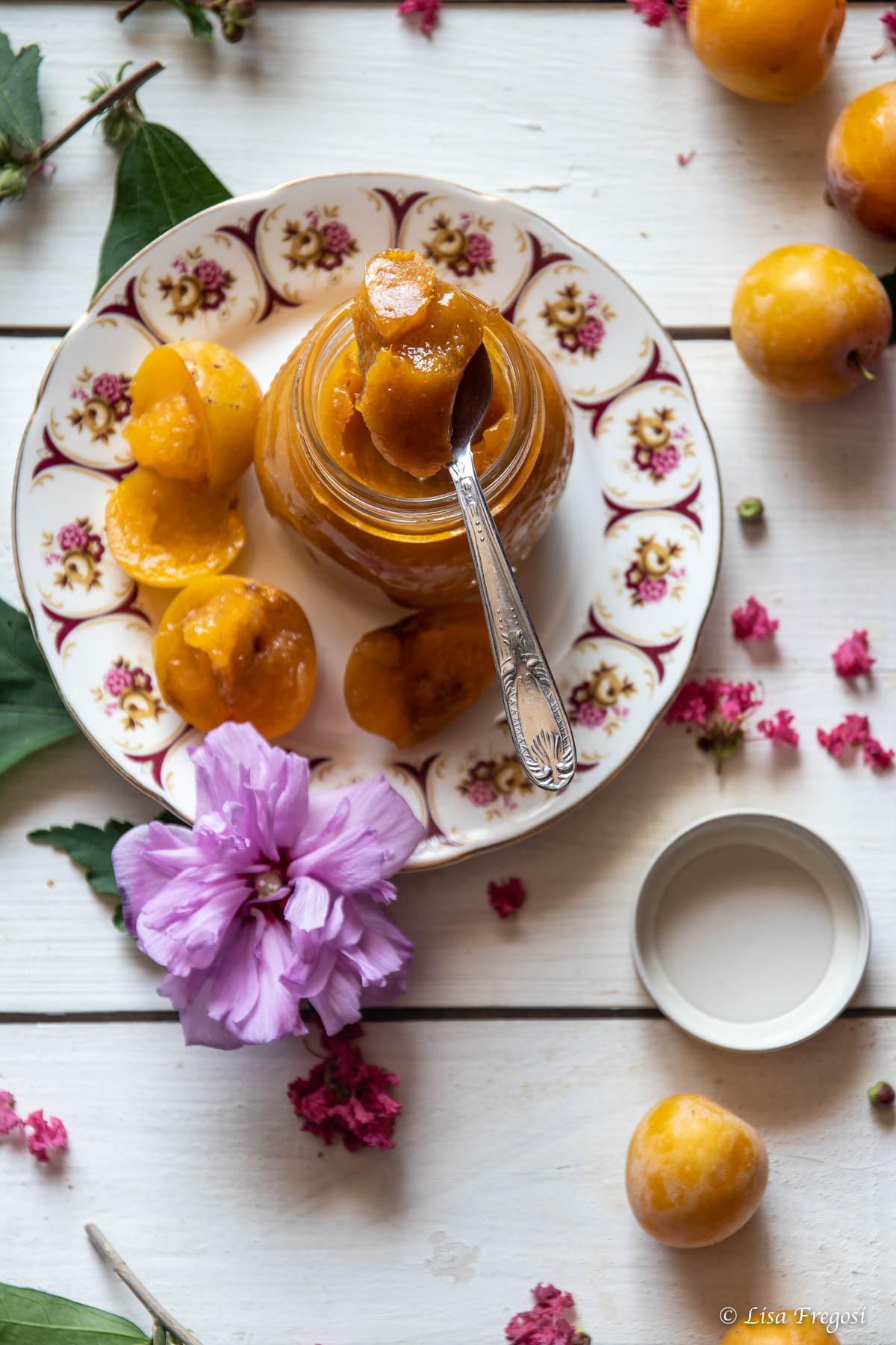 confettura-marmellata di susine gialle