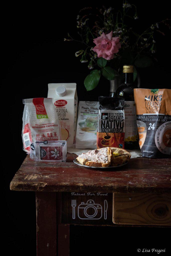 Challah murrina con crema di mascarpone e mostarda ricetta per talent for food