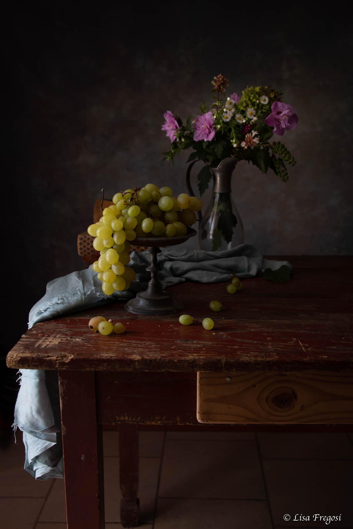 uva bianca still life