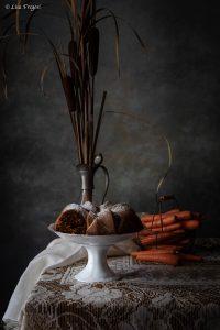 torta speziata di carote