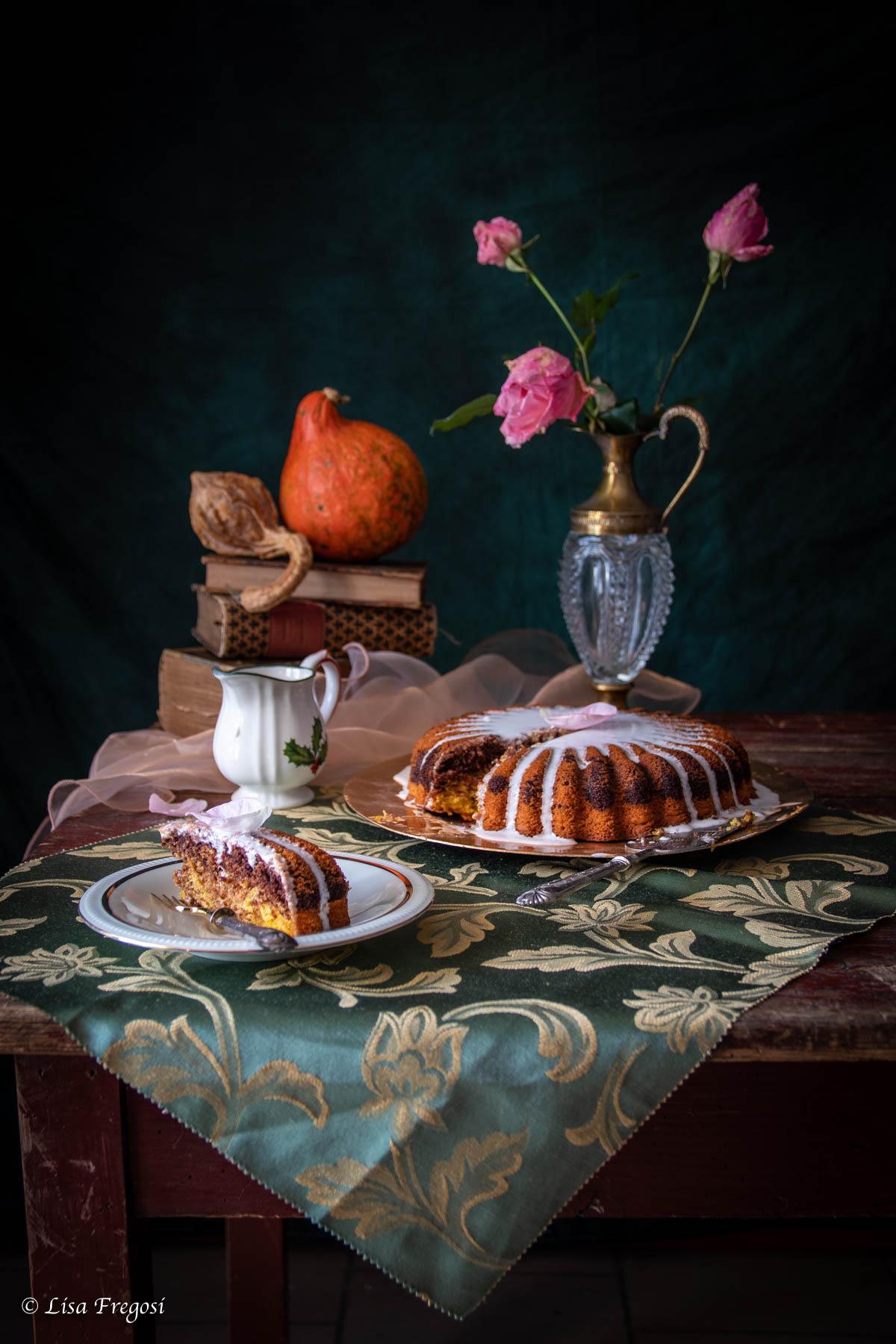 ricetta della torta alla zucca e cacao