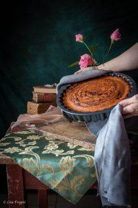 torta con zucca e cacao