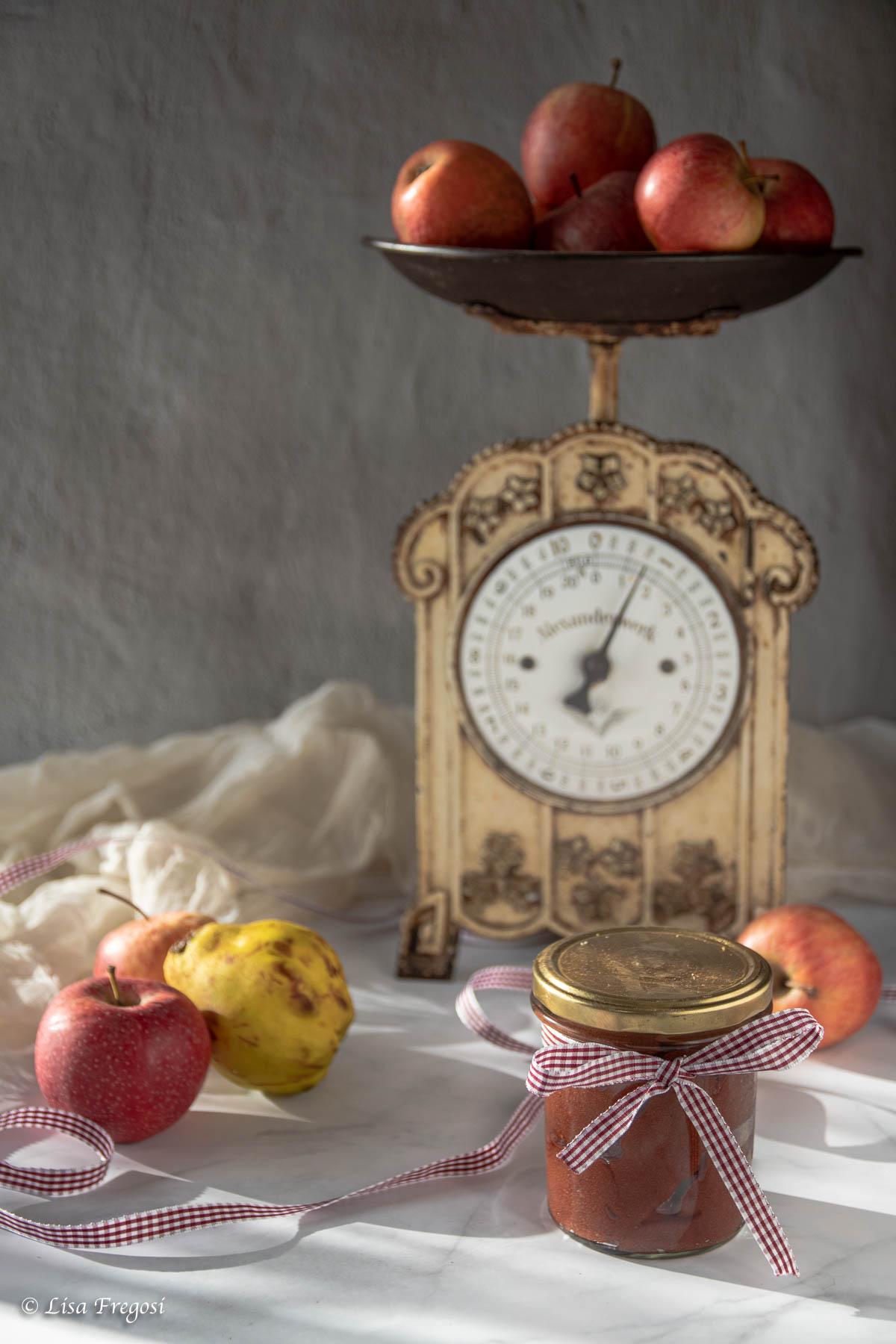 applebutter burro di mele con mele e cotogne