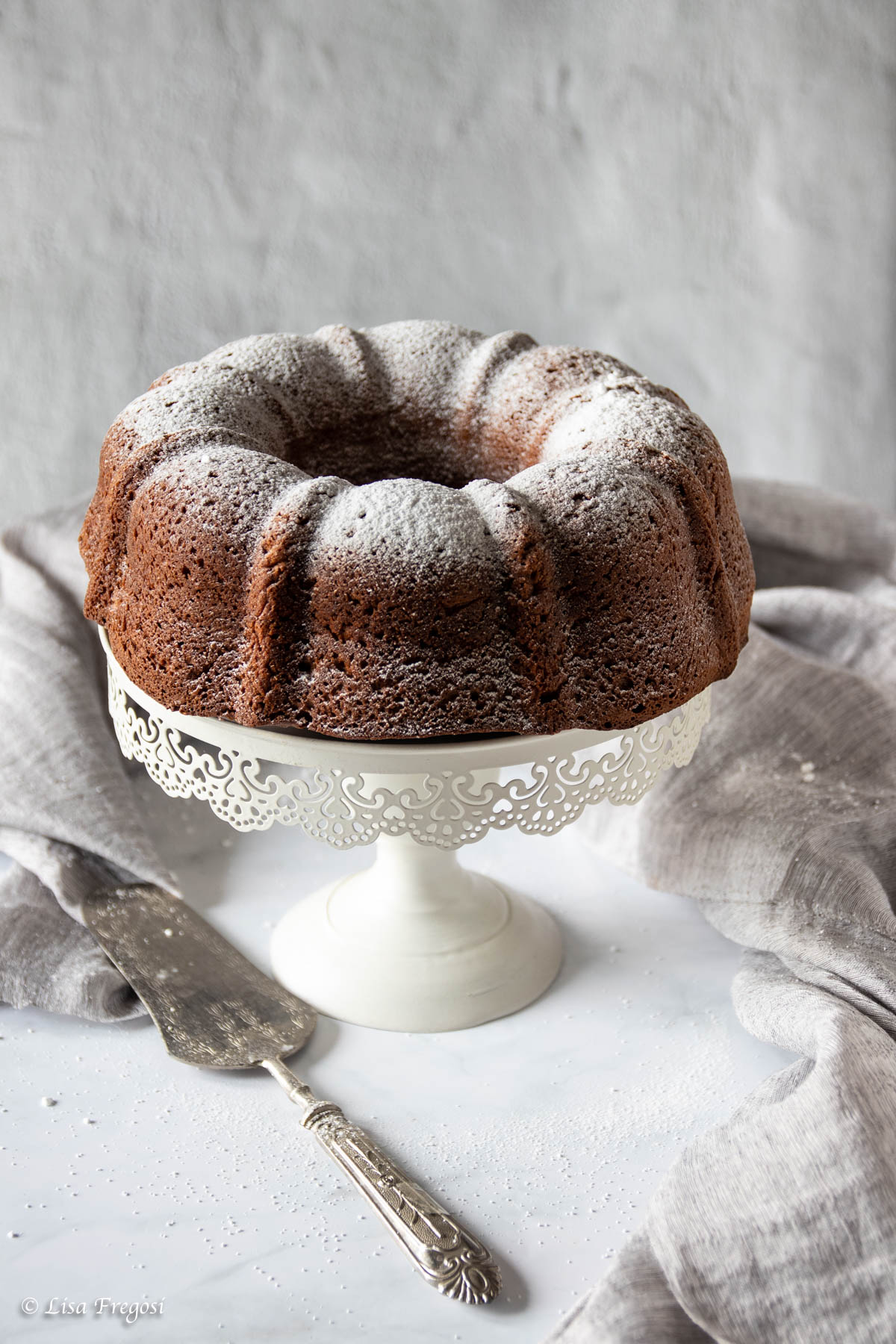 bundt cake al cacao