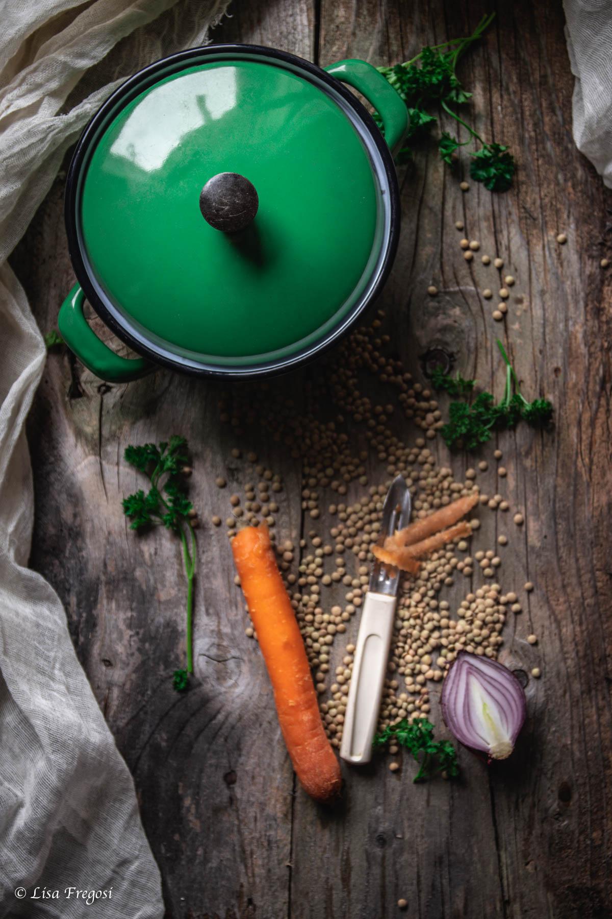 come fare il ragù di lenticchie in scatola