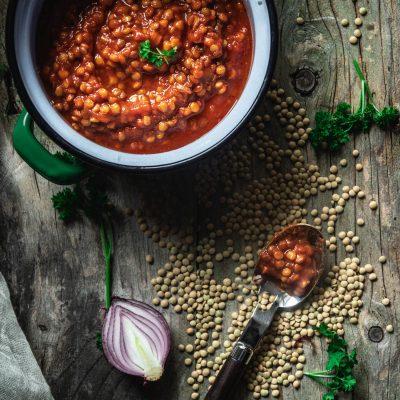 ragù di lenticchie ricetta vegana