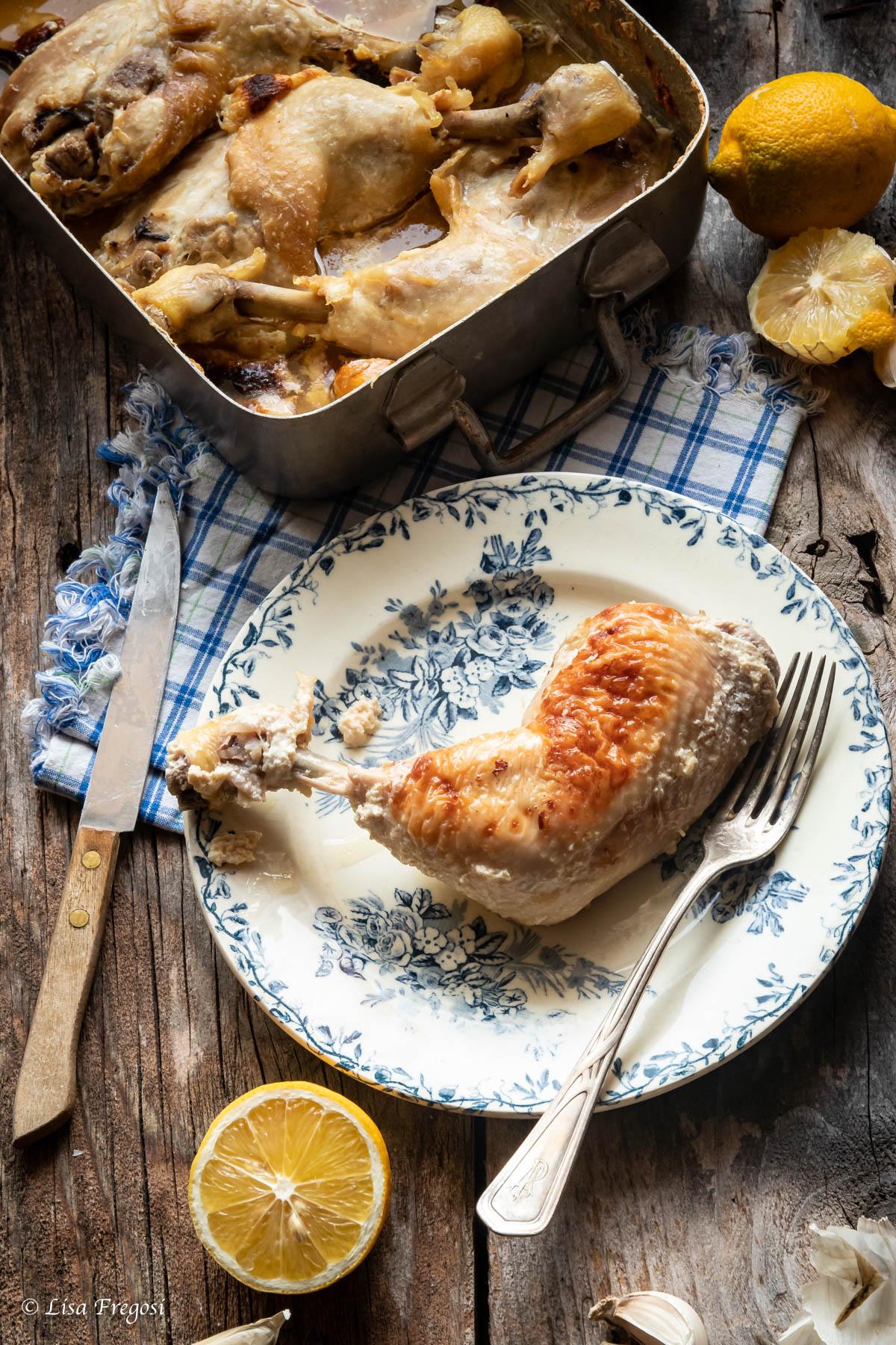 ricetta Jamie Oliver pollo