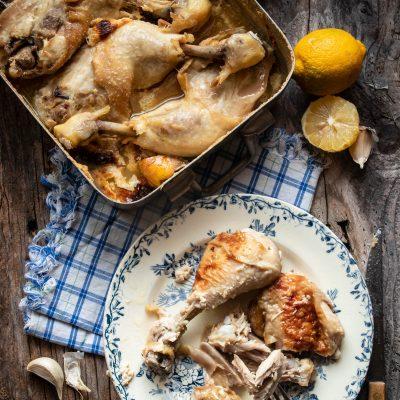 pollo al latte forno