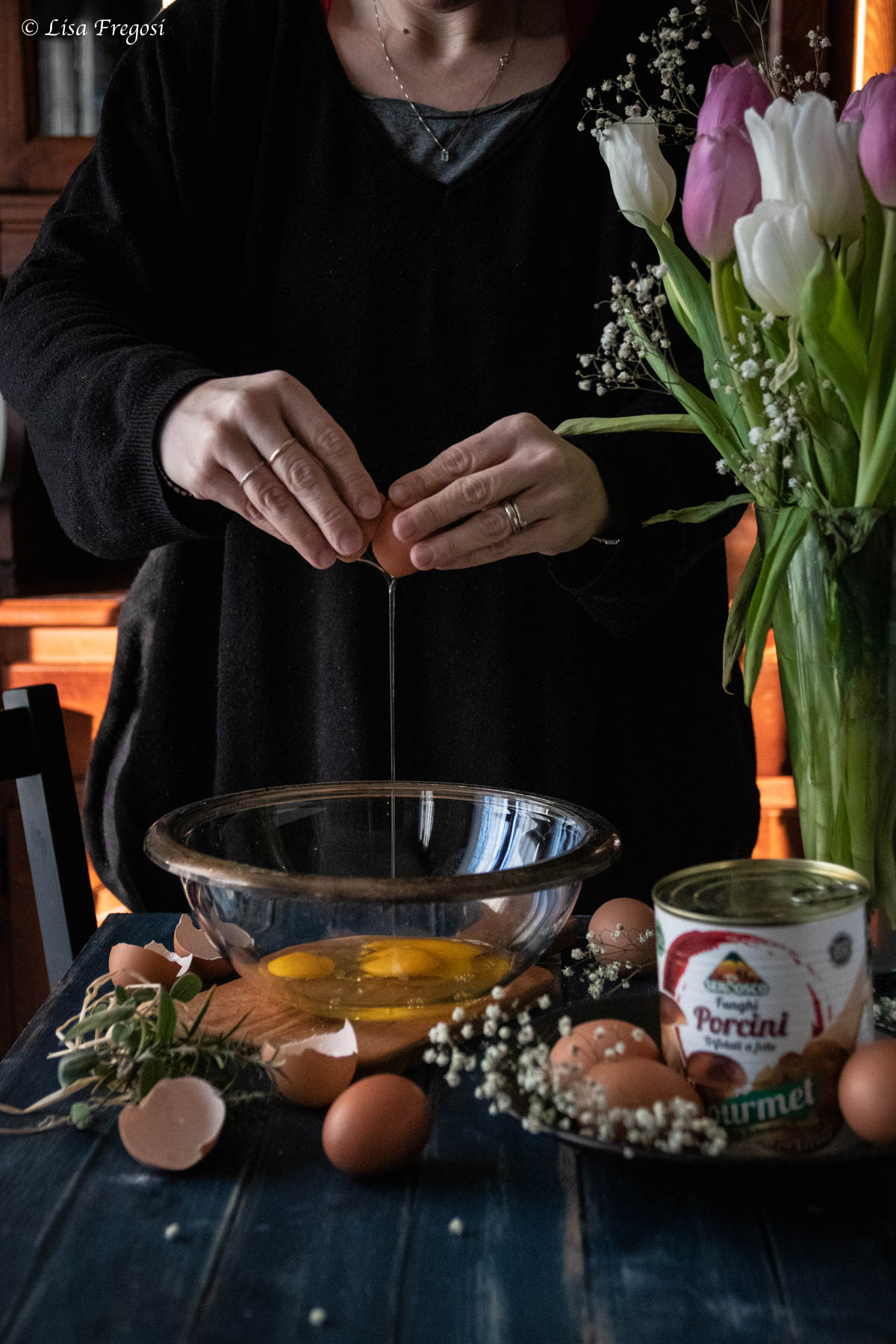 la ricetta delle frittatine rustiche con porcini gourmet Serbosco