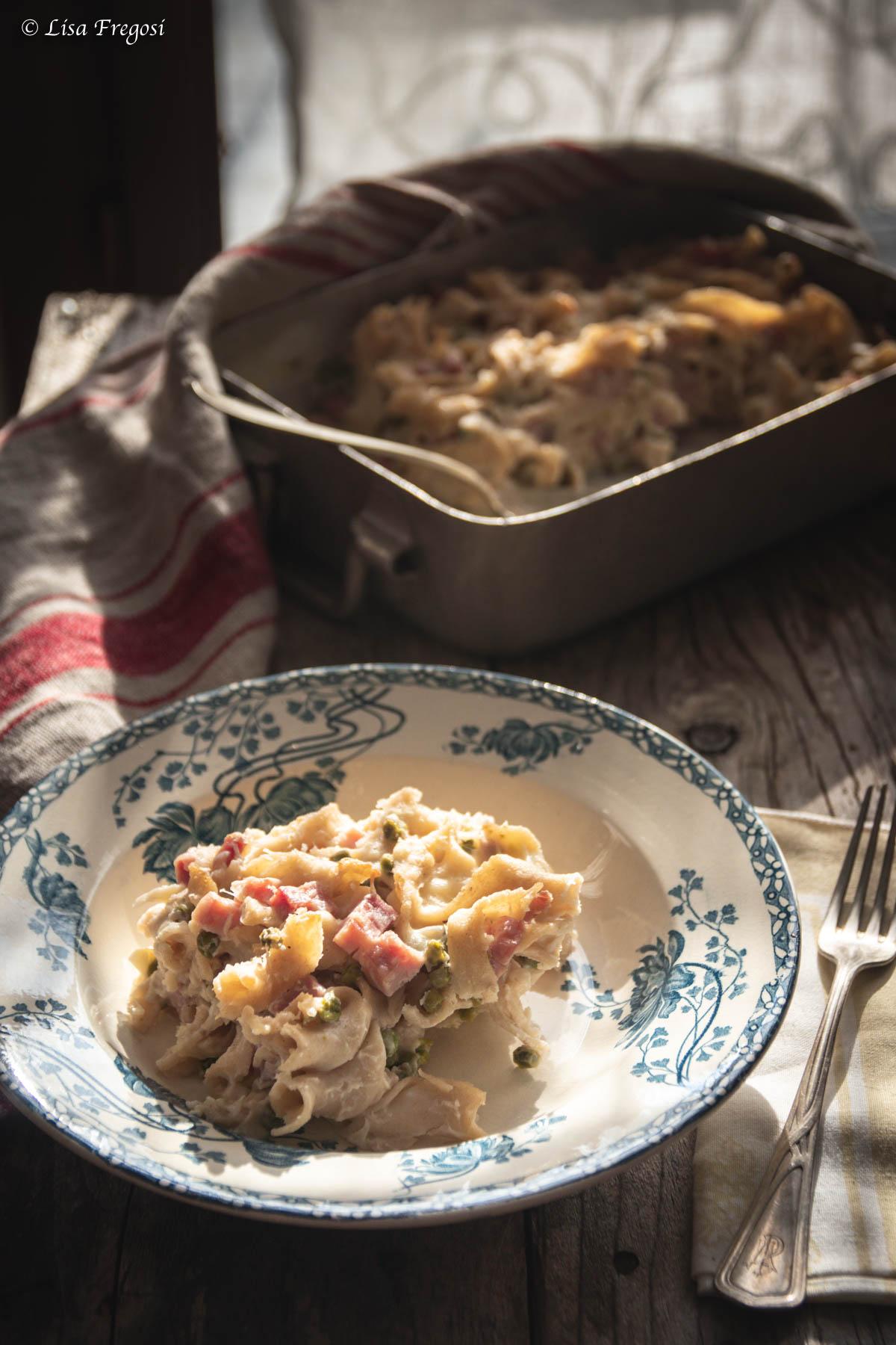 la ricetta della pasta pasticciata al forno