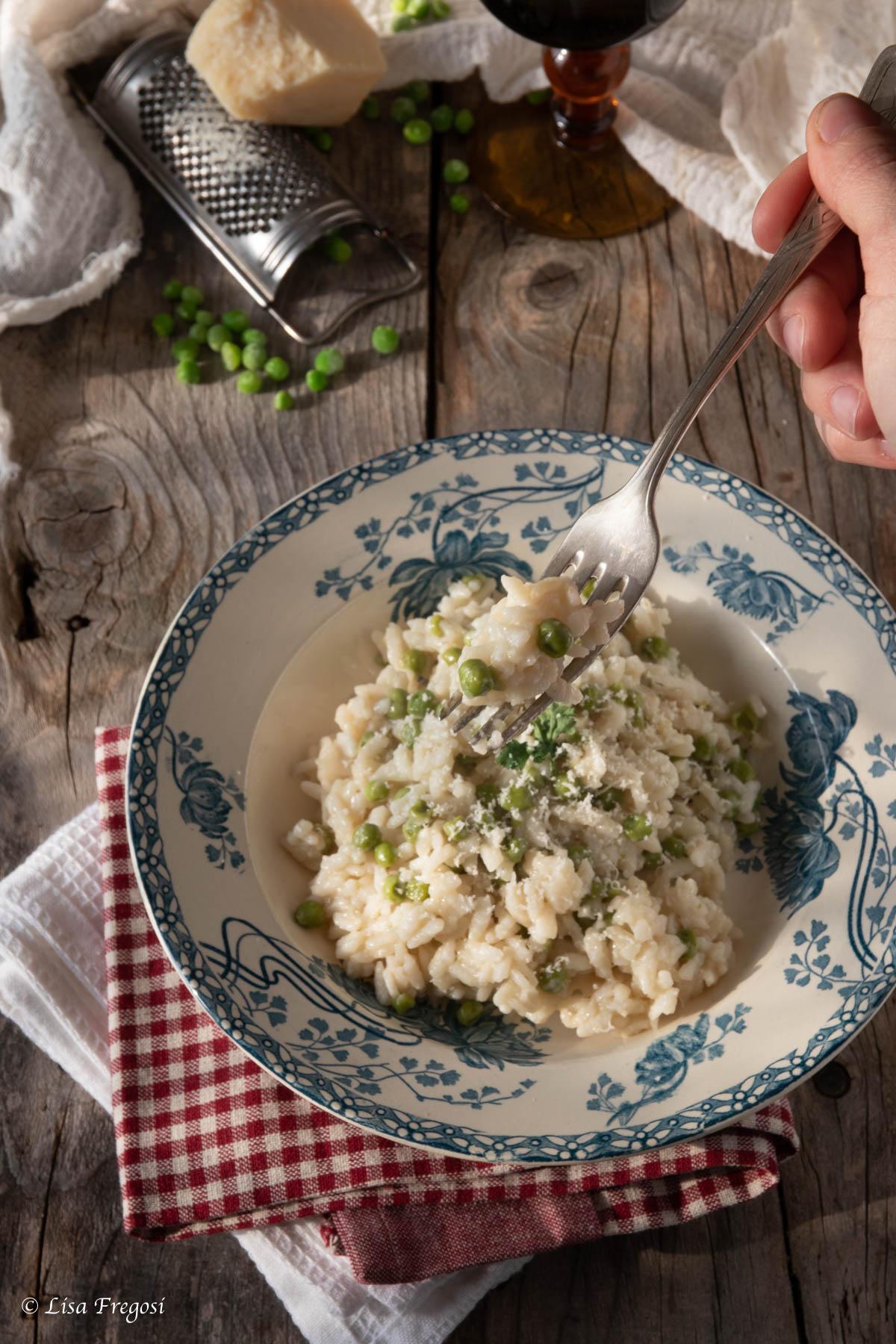 risi e bisi- risotto con piselli