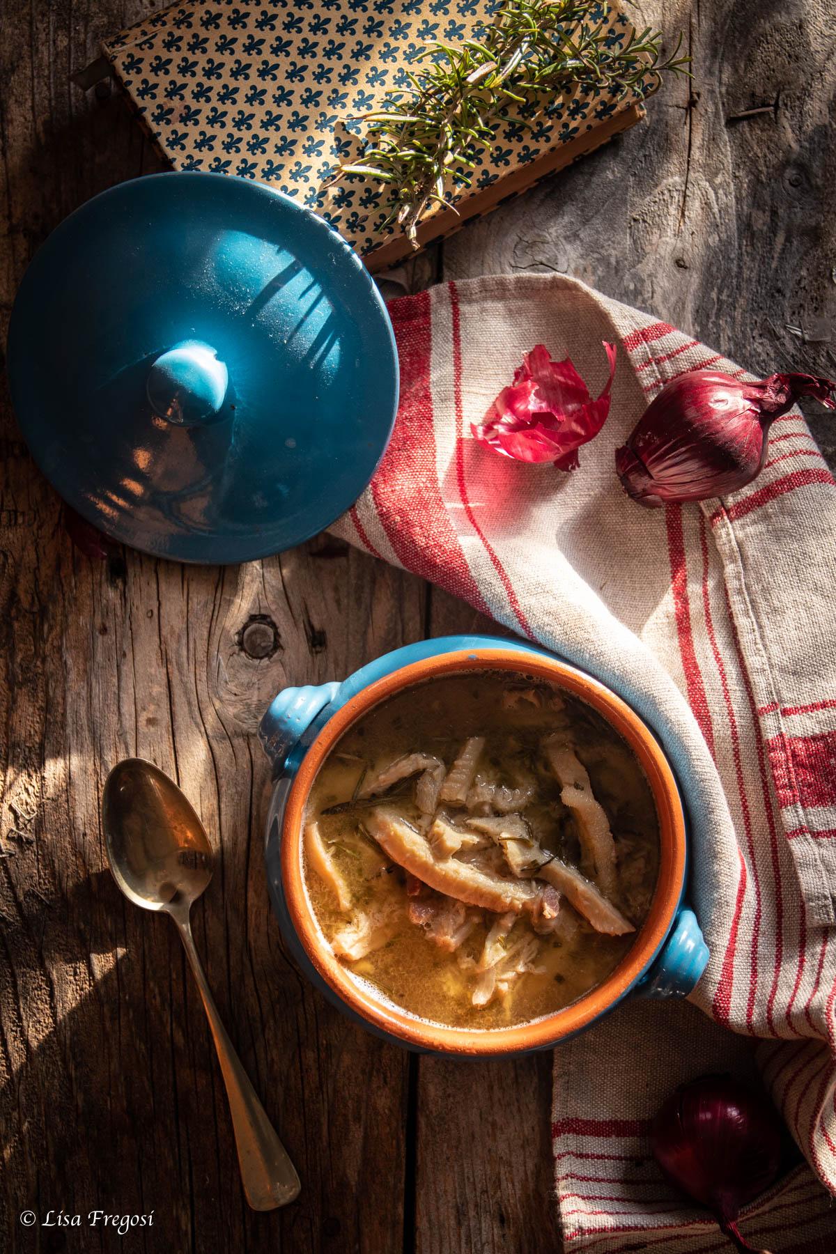 la sopa de tripe