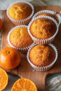 cupcake senza lattosio ricetta con mandarini
