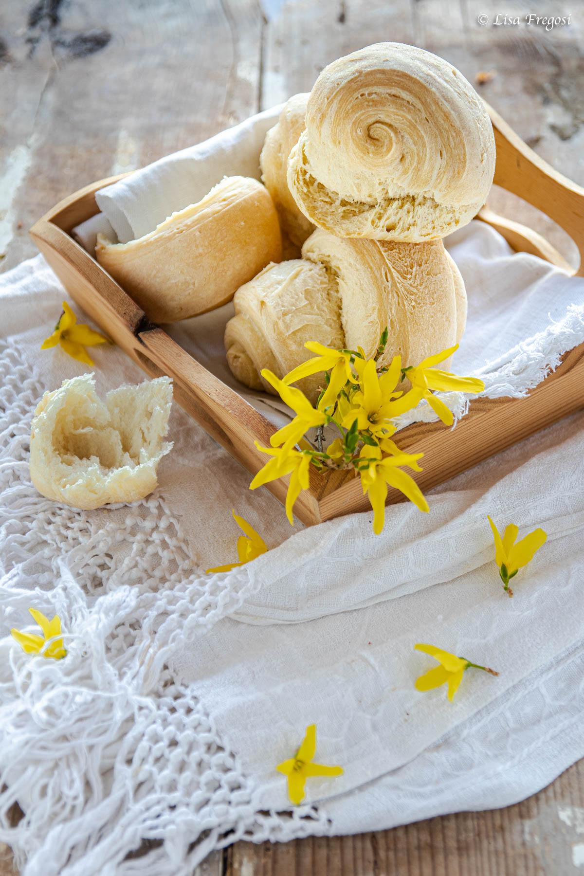 panini semplici arrotolati ricetta senza impasto