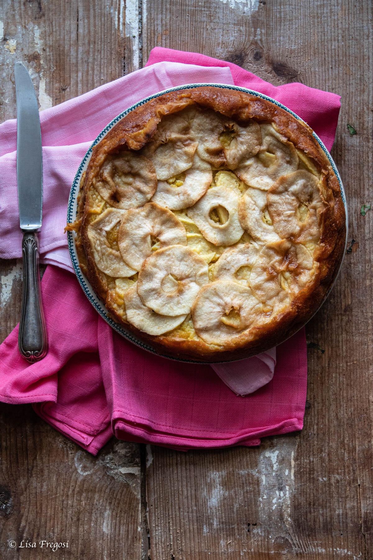 torte a base di mele torta di mele buonissima torta di mele budinosa