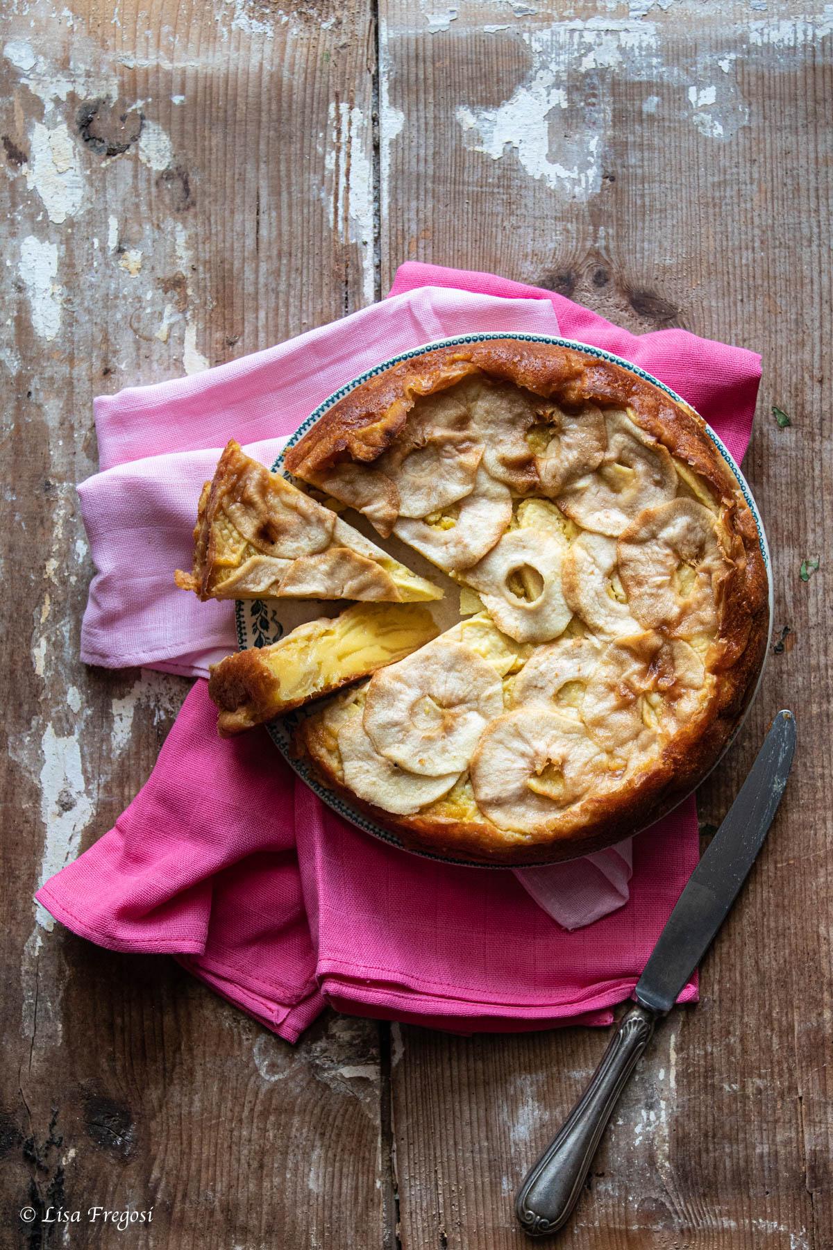 torta di mele come conservarla torta di mele soffice torta di mele ricetta torta di mele cremosa la torta di mele
