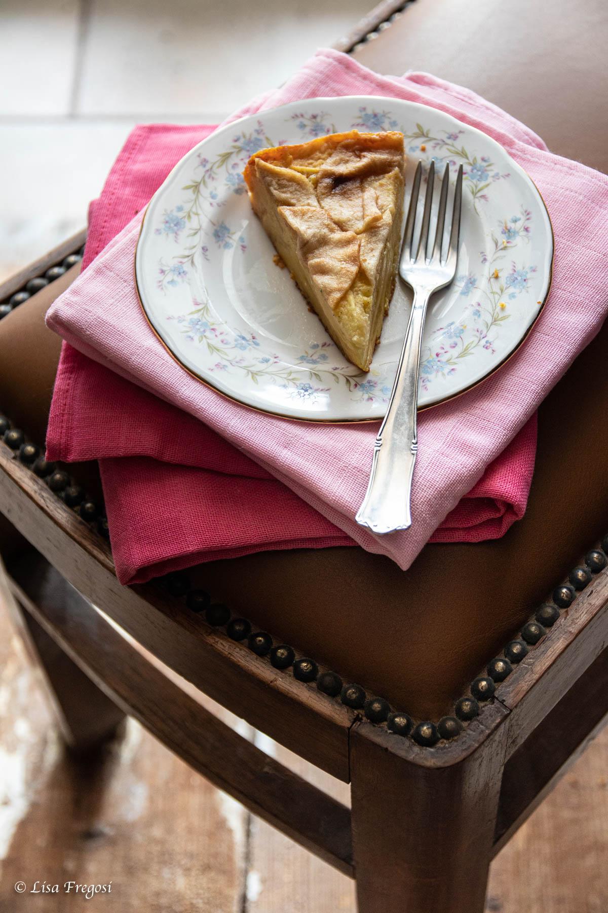 torta di mele a strati torta di mele a pezzi torta di mele come si fa