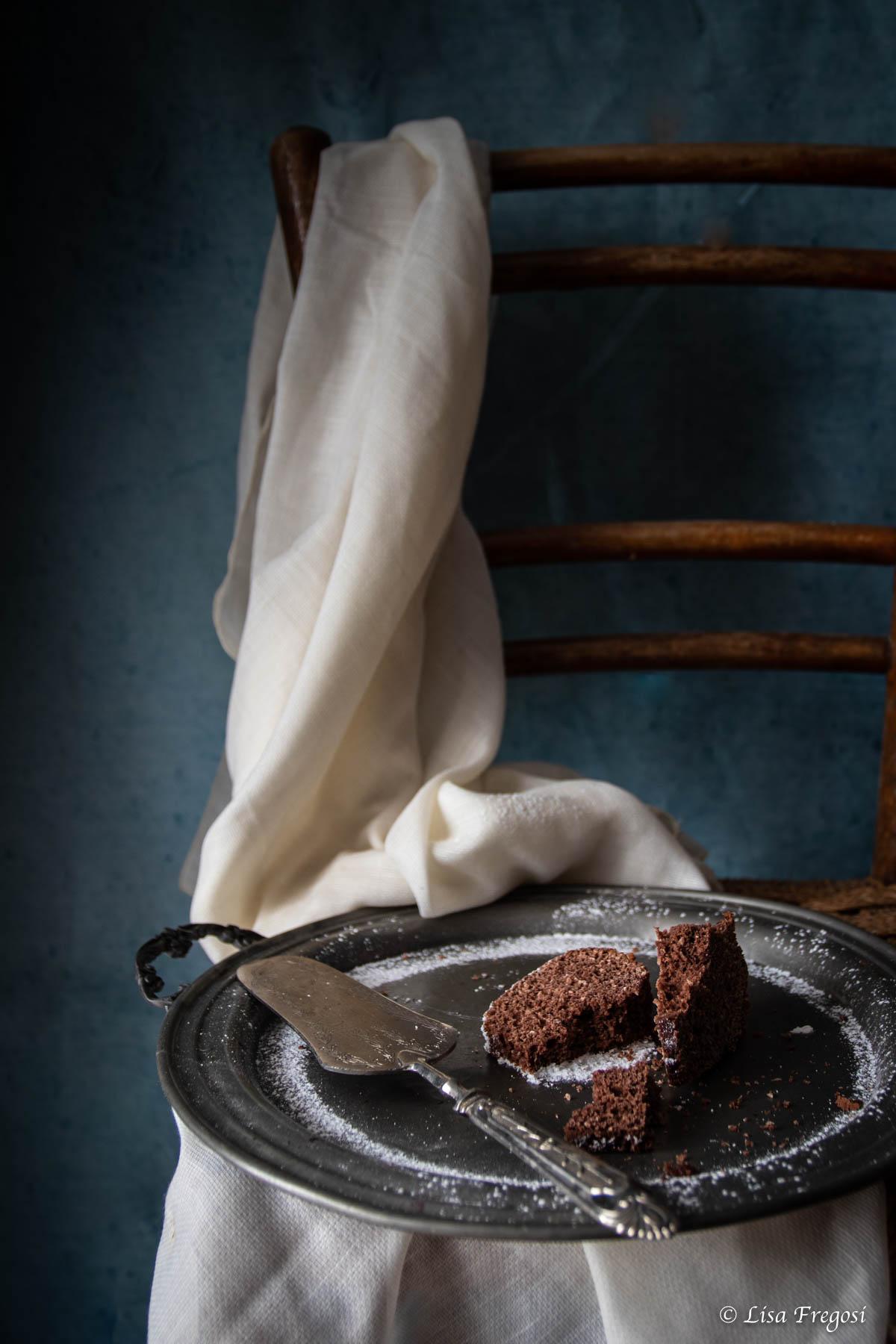 bundtcake cacao, cocco e rum