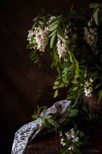 fiori acacia in cucina,