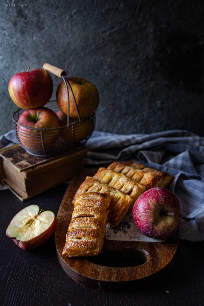 sfogliatine con mele sfogliatine con mele e marmellata