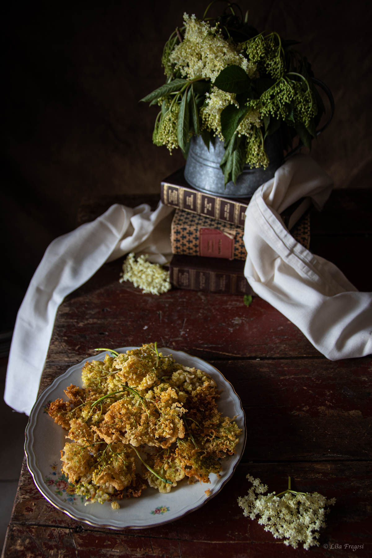 frittelle fiori di sambuco, frittelle ai fiori di sambuco, frittelle con i fiori di sambuco,