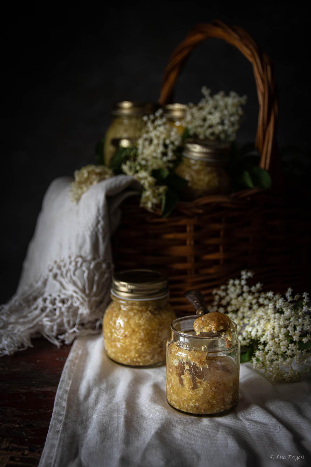 marmellata di fiori di sambuco