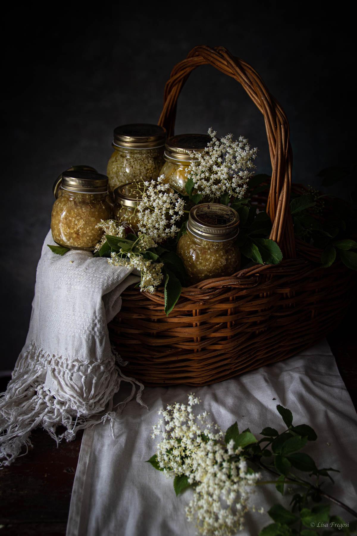 confettura di fiori di sambuco e mele
