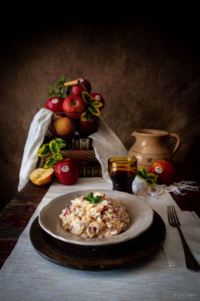 risotto veneto sopressa e mele