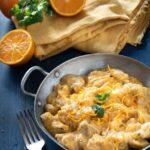 spezzatino di pollo e arancia