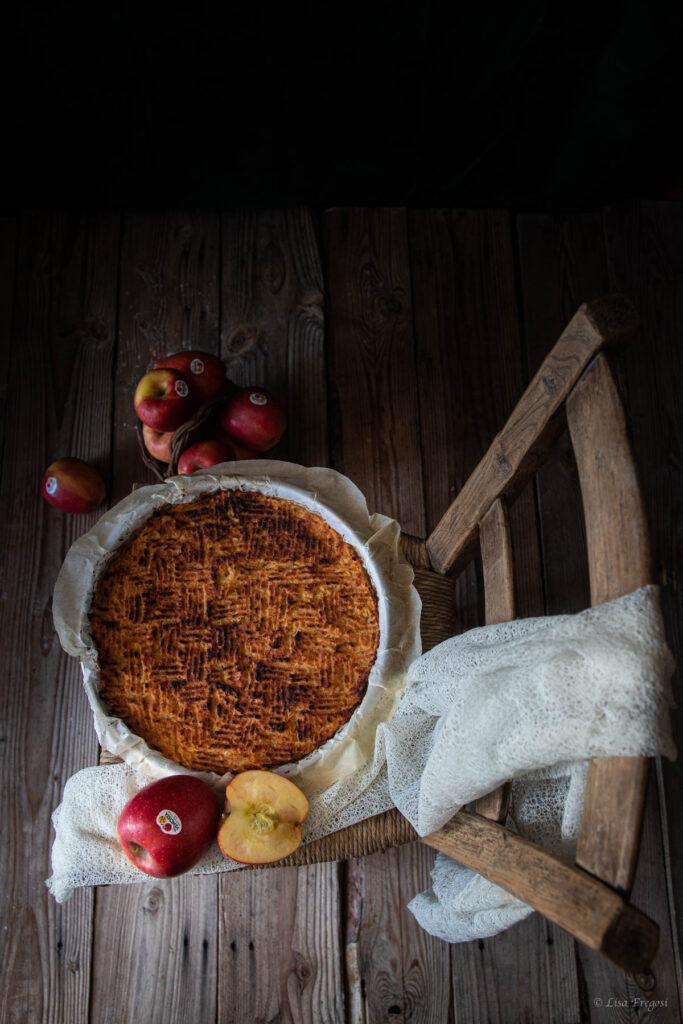 torta antica ligure di mele