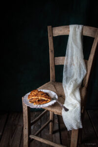 Torta antica ligure con mele Braeburn Val Venosta