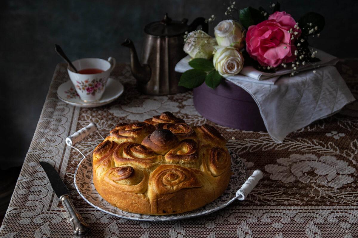 la ricetta della torta di rose del Garda
