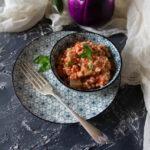 zuppa fredda sorgo melanzane