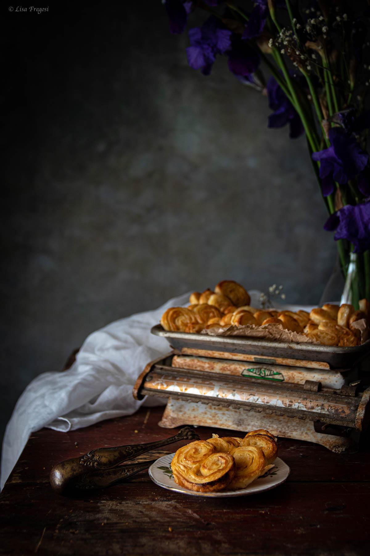 ventaglietti di pasta sfoglia, ventagli di sfoglia lucake, ventaglietti di pasta sfoglia lucake, ventagli sfoglia misya,