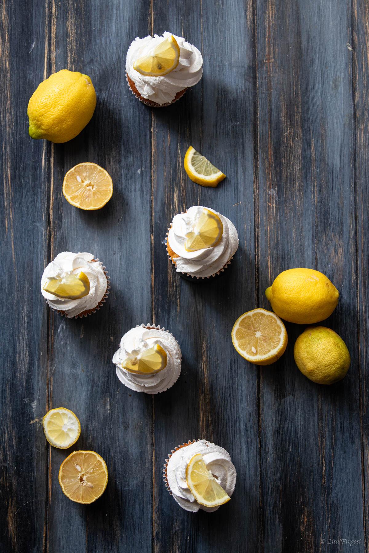 cupcake al limone ricetta