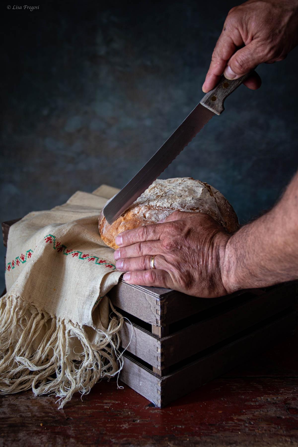 pane senza impasto ricetta da cuocere in forno nella pentola di ghisa