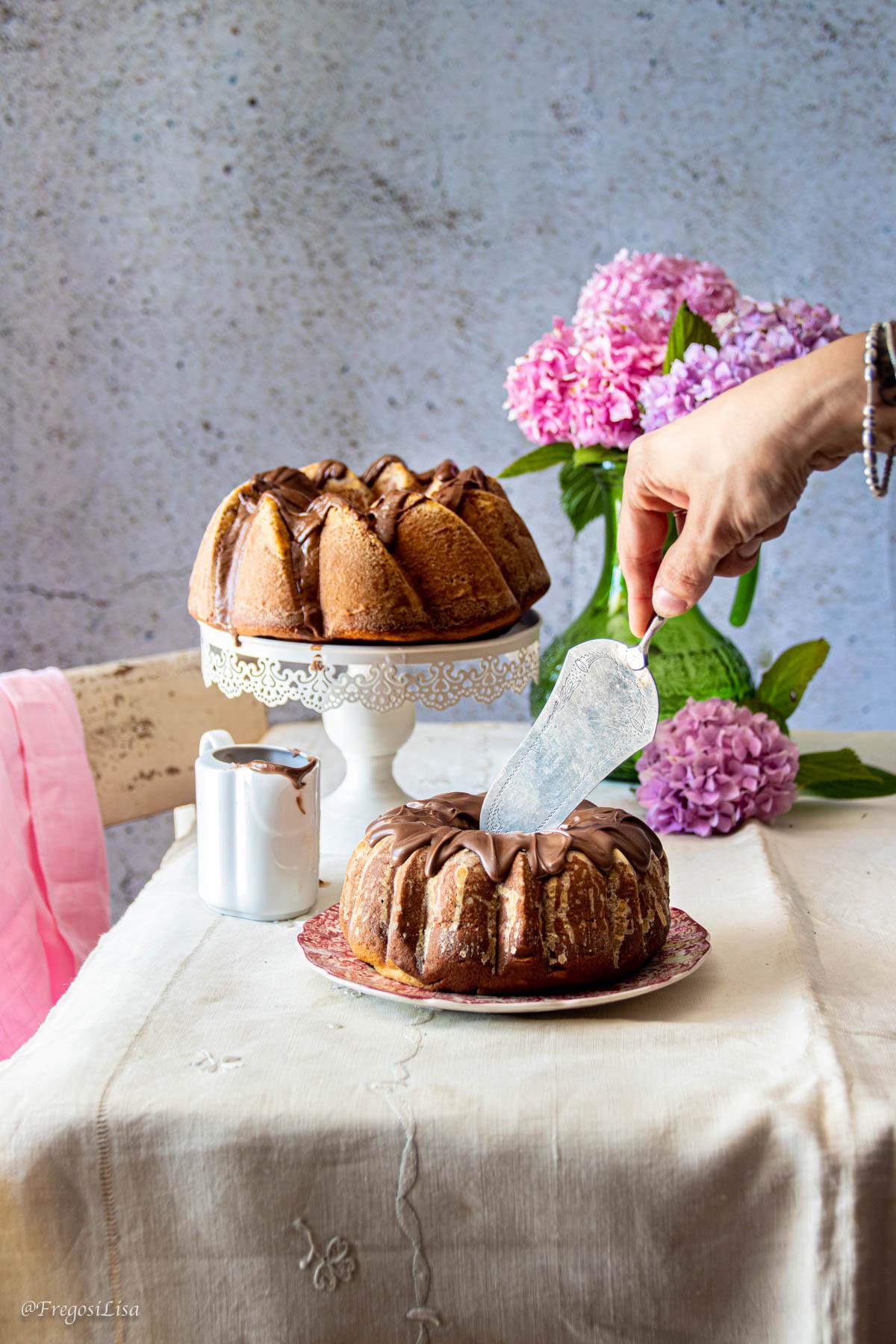ricetta torta abbracciociambella dolce abbraccio ciambella soffice abbraccio