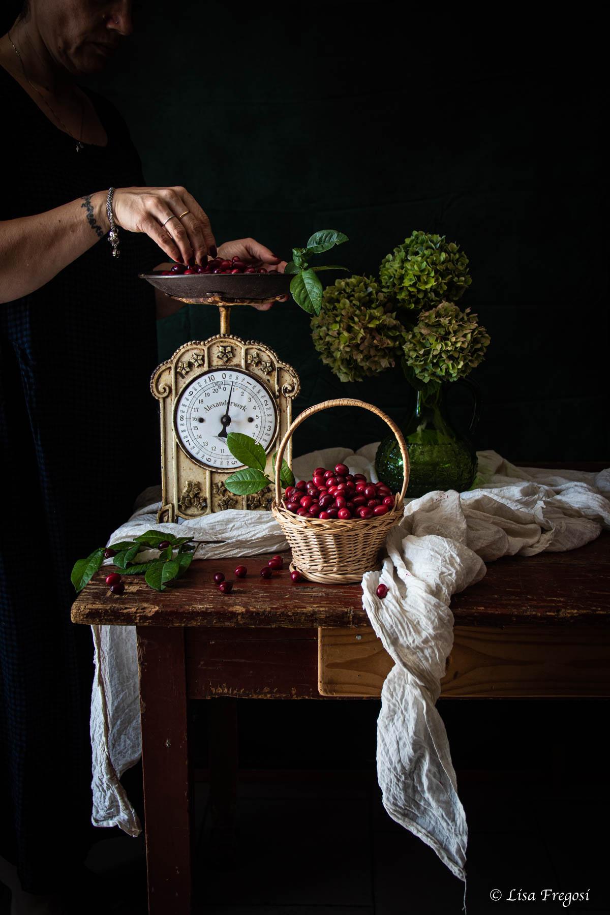 corniole frutto corniole in cucina