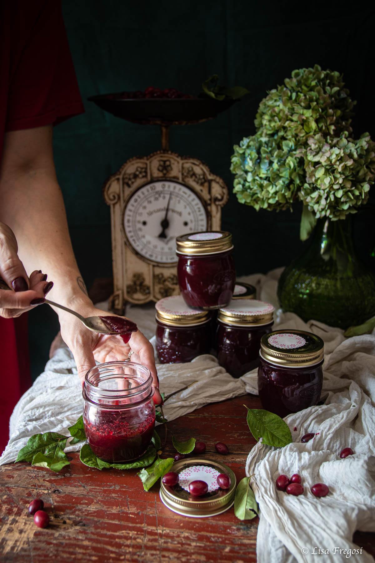 corniole ciliegie corniole frutto corniole in cucina