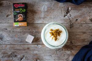 assaggio ricetta polpette al curry e crema di yogurt