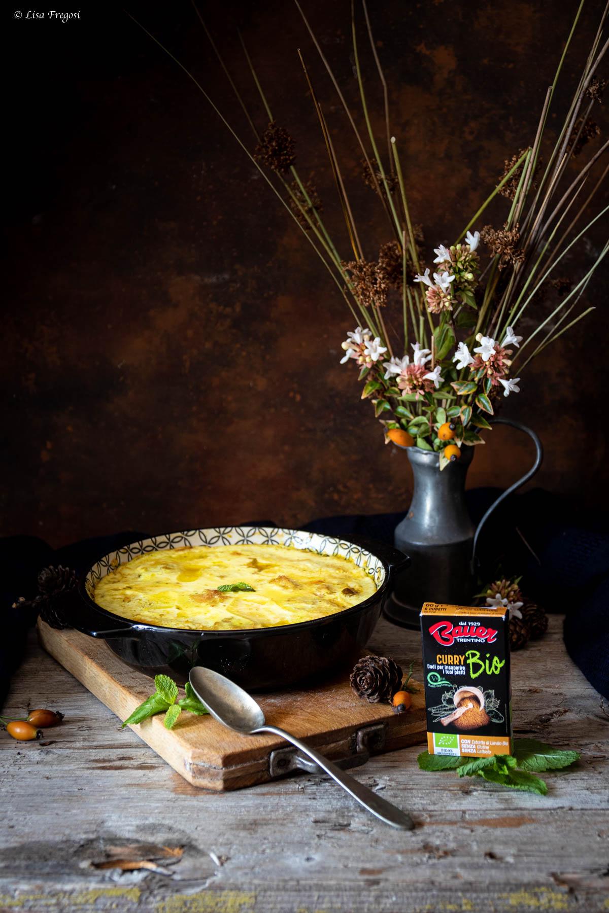 polpette pollo curry e crema yogurt