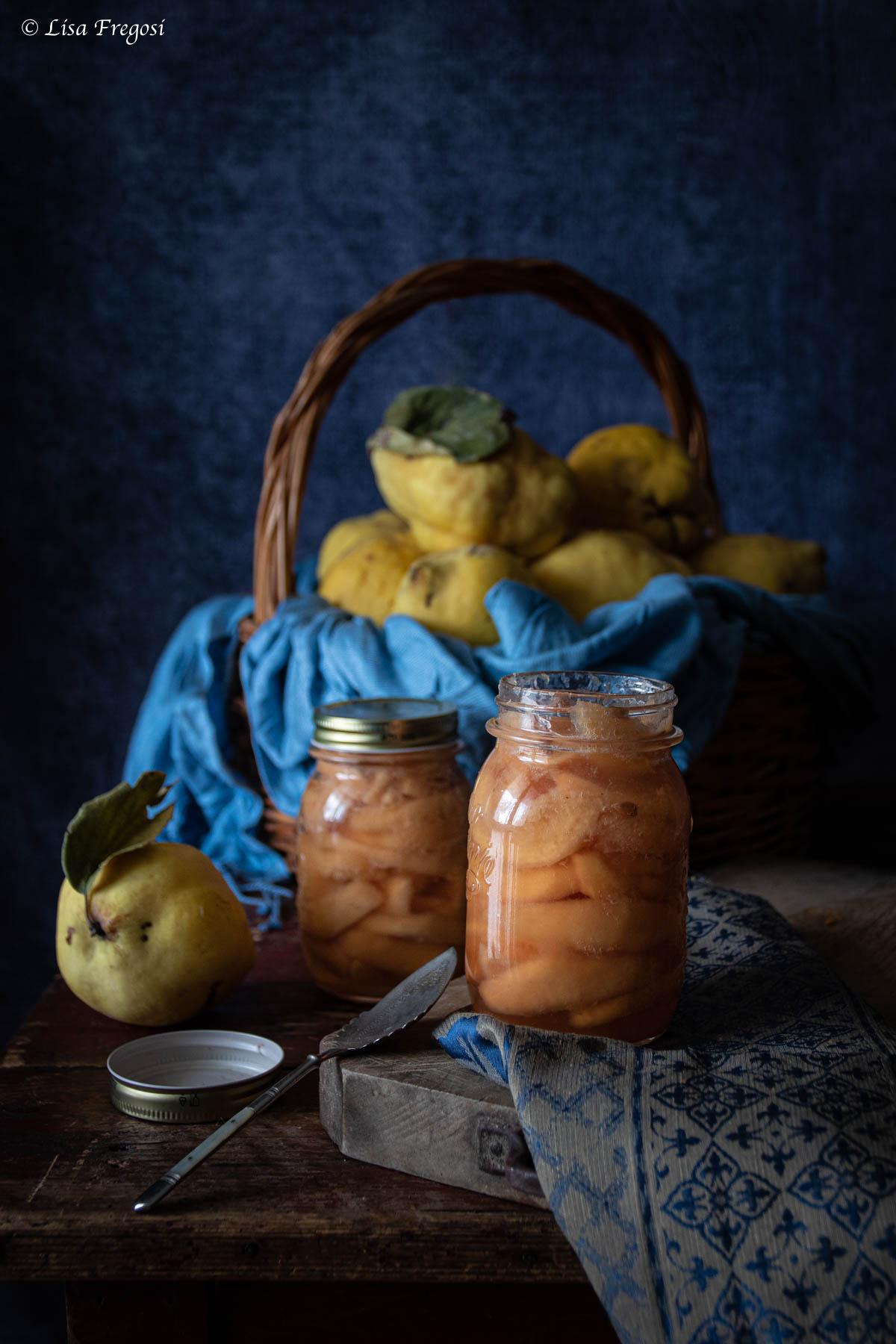 come fare le mele cotogne sciroppate