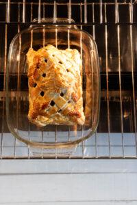 arrosto in crosta di pane
