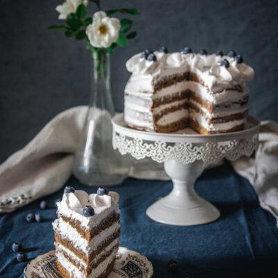 naked cake al cacao